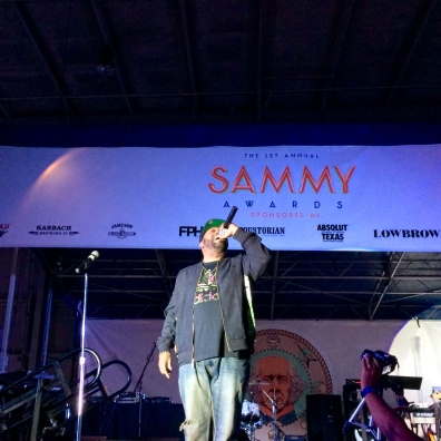 Bun B did an excellent job as host of the Inaugural Sammy Awards