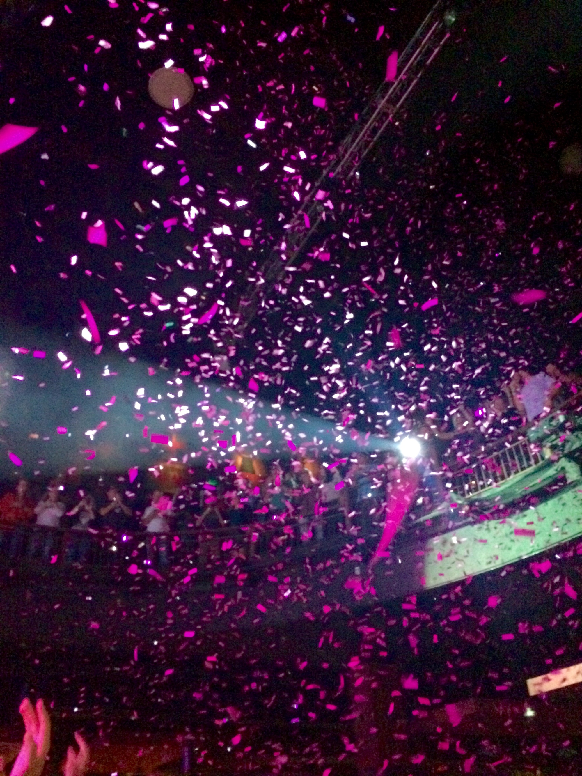 Picture of Fitz and the Tantrums confetti rain