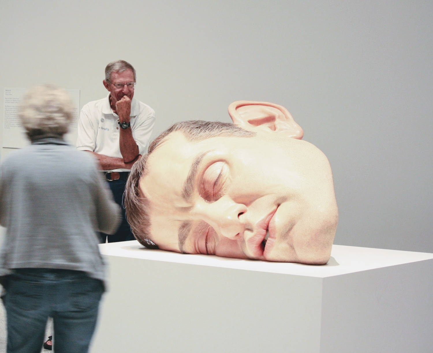 Ron Mueck, Mask II