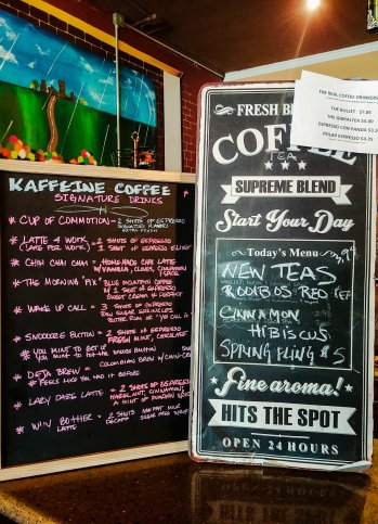 Photo of Kaffeine's menu