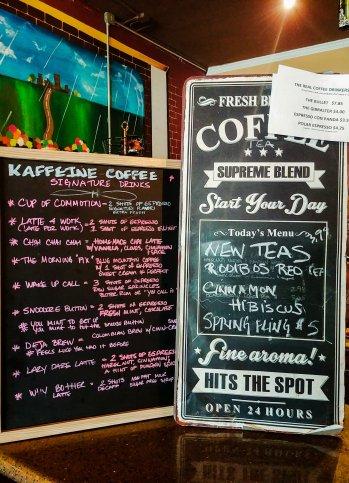 Photo of Kaffeine's menu