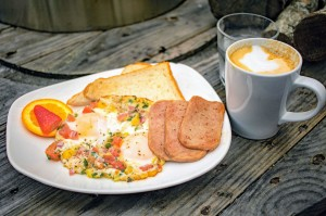 Java Lava Eggs and Latte Brunch