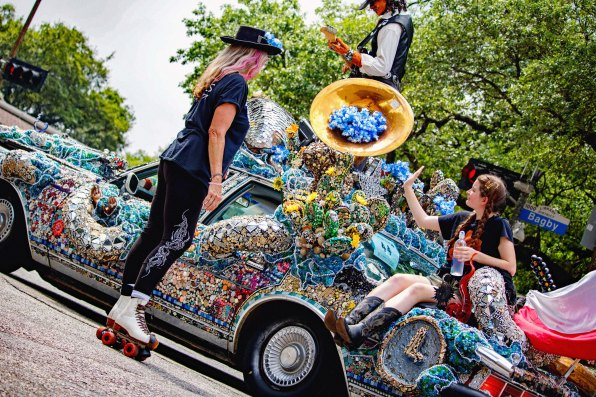 """""""Pride & Joy: A Tribute to Stevie Ray Vaughan"""" by Heights High School and Rebecca Bass Houston, TX (Photo: Lauriston Brewster/Bayou Current)"""