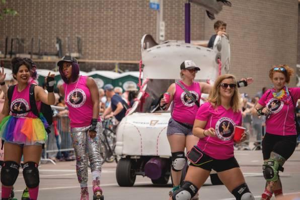 Houston Roller Derby is a women's flat track roller derby league based in Houston.