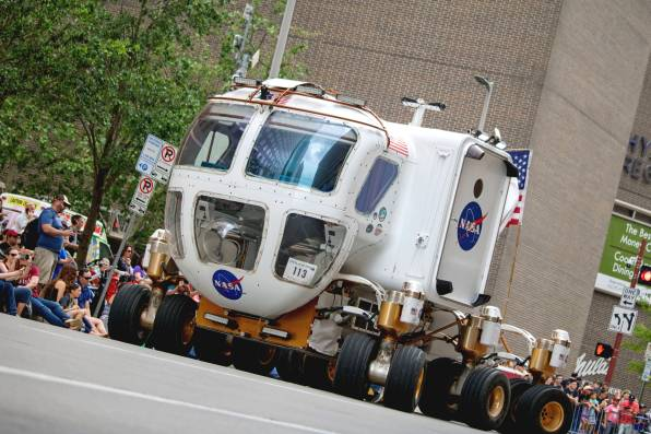 Space Exploration Vehicle (Photo: Lauriston Brewster/Bayou Current)